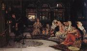 John William Waterhouse Consulting the Oracle oil painting picture wholesale
