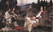 John William Waterhouse Saint Cecilia oil painting picture wholesale