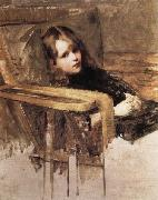 John William Waterhouse The Easy Chair oil painting picture wholesale