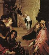 Juan de Sevilla romero The Presentation of the Virgin in the Temple oil painting picture wholesale