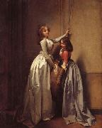Louis-Leopold Boilly In the Entrance oil painting picture wholesale