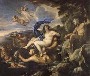 Luca Giordano he Triumph of Galatea,with Acis Transformed into a Spring oil painting picture wholesale
