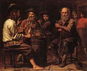 Mathieu le Nain Peasants in a Tavern oil painting artist