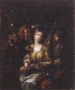 Matthys Naiveu The procuress oil painting artist