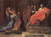 Nicolas Poussin Esther Before Ahasuerus oil painting picture wholesale