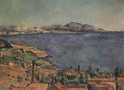 Paul Cezanne Le Golfe de Marseille vu de L'Estaque, oil painting picture wholesale