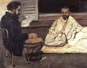 Paul Cezanne Paul Alexis faisant la lecture a Emile Zola oil painting picture wholesale