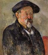 Paul Cezanne Autoportrait au beret oil painting picture wholesale