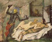 Paul Cezanne Afternoon in Naples oil painting picture wholesale