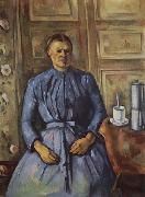Paul Cezanne Woman with a  Coffee Pot oil painting picture wholesale