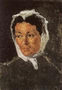Paul Cezanne Portrait de Louis-Auguste Cezanne lisant L Evenement Spain oil painting artist