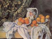 Paul Cezanne Still life with Drapery oil painting picture wholesale