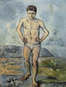 Paul Cezanne Man Standing,Hands on Hips oil painting picture wholesale