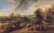 Peter Paul Rubens Return of the Peasants from the Fields oil painting picture wholesale