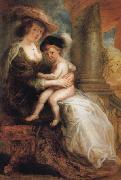 Peter Paul Rubens Helene Fourment and her Eldest Son Frans oil painting picture wholesale