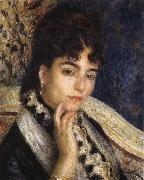 Pierre Renoir Madame Alphonse Daudet oil painting picture wholesale