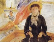 Pierre Renoir Girl in a Boat Spain oil painting artist