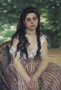 Pierre Renoir Summer(The Gypsy Girl) oil painting picture wholesale