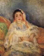 Pierre Renoir Algerian Woman Seated oil painting picture wholesale