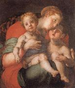 Pontormo Madonna and Child with the Young St.John oil painting artist