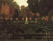Prats, Santiago Rusinol The Old Faun oil painting artist