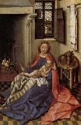 Robert Campin Madonna and Child Befor a Fireplace oil painting picture wholesale