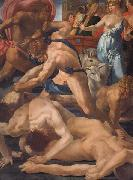 Rosso Fiorentino Moses Defending the Daughters of Jethro oil painting picture wholesale