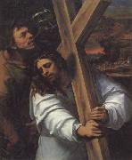 Sebastiano del Piombo Jesus Carrying the Cross oil painting picture wholesale