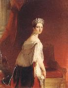 Thomas Sully Queen Victoria oil painting artist