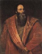 Titian Portrait of Pietro Aretino oil painting picture wholesale