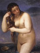 Titian Venus Anadyomenes oil painting picture wholesale