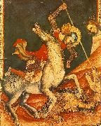 VITALE DA BOLOGNA St George 's Battle with the Dragon oil painting picture wholesale