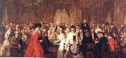 William Powell  Frith The Salon d'Or Homburg oil painting picture wholesale