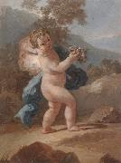 unknow artist Putti in a landscape oil painting picture wholesale