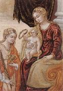 unknow artist The madonna and child with saint lucy oil painting picture wholesale