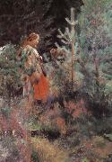 Anders Zorn Shepherdess oil painting picture wholesale