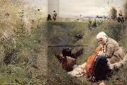 Anders Zorn Our Daily Bread oil painting picture wholesale