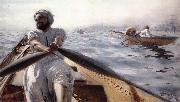 Anders Zorn Kaikroddare oil painting reproduction