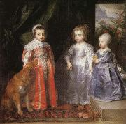Anthony Van Dyck Portrait of the Children of Charles I of England oil painting picture wholesale