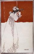 Aubrey Beardsley Isolde oil painting artist