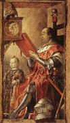 BERRUGUETE, Pedro Federico da Motefeltro,Duke of Urbino,with His Son Guidobaldo oil painting picture wholesale