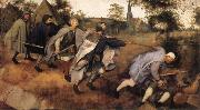 BRUEGEL, Pieter the Elder Parable of the Blind Leading the Blind oil painting picture wholesale