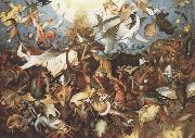 BRUEGEL, Pieter the Elder Fall of the Rebel Angels oil painting reproduction