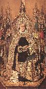 Bartolome Bermejo St Dominic Enthroned in Glory oil painting artist