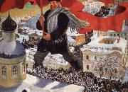 Boris Kustodiev Bolshevik oil painting picture wholesale
