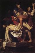 Caravaggio Entombment of Christ oil painting picture wholesale