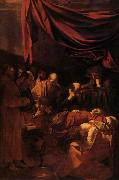 Caravaggio La Mort de la Vierge oil painting picture wholesale