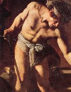 Caravaggio Details of Martyrdom of St.Matthew oil painting picture wholesale