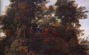 Claude Lorrain Details of The Sermon on the mount oil painting picture wholesale