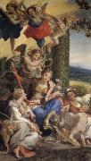 Correggio Allegory of Virtue oil painting picture wholesale